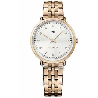 Tommy Hilfiger Womans Pippa Rose Gold Plated 1781760 Watch