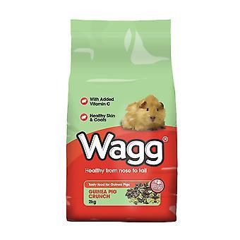 Wagg marsvin Crunch 2kg