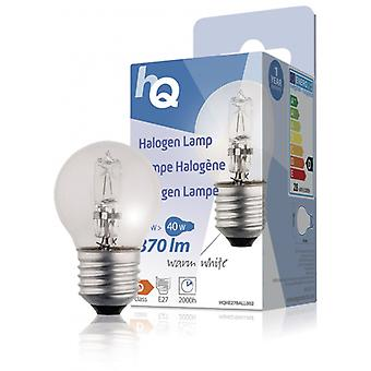 HQ in bal formulier 28 W halogeen lamp E27 370 lm 2 800 K