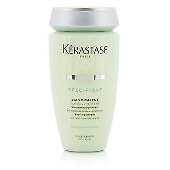 Kerastase Specifique Bain Divalent Balancing Shampoo (Oily Roots Sensitised Lengths) - 250ml/8.5oz