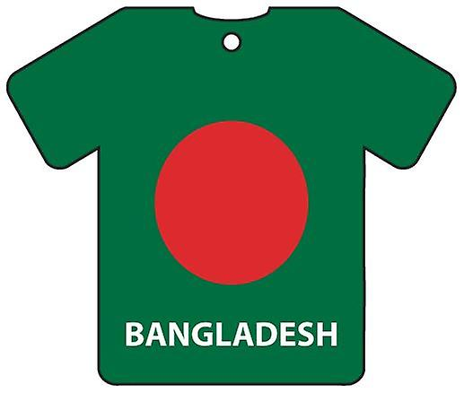 Personalised Bangladesh Flag Jersey Car Air Freshener