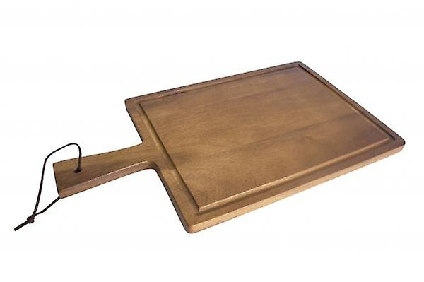 WOODEN PRESENTATION PADDLE SERVING BOARD TRAY 42X23CM HOME KITCHEN
