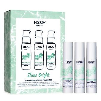 H2O Plus Glanz helle Waterbright Mini Favoriten 3 Stück Set