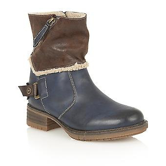 Lotus Doreen Blue Matt Boots