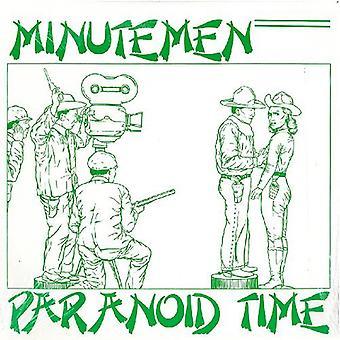 Minutemen - Paranoid tid EP [Vinyl] USA importerer
