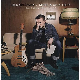 JD McPherson - borden & betekenaars [Vinyl] USA import