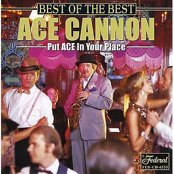 Ace kanon - bedste af det bedste [CD] USA import