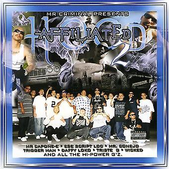 Mr. Criminal Presents - Hood tilknyttet Pt. 2 [CD] USA import
