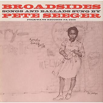 Pete Seeger - Broadsides-Songs & Ballads [CD] USA import