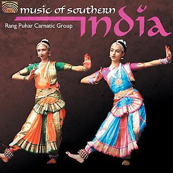 Rang Puhar Carnatic Group - Music of Southern India [CD] USA import
