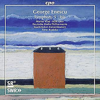 Vlad / Ndr Chor / Deutsche Radio Philharmonie - Isis Sym 5 [CD] USA import