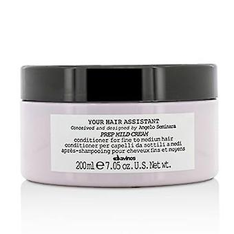 Davines Your Hair Assistant Prep Mild Cream Conditioner (For Fine to Medium Hair) - 200ml/7.05oz