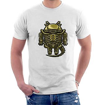 Droilien Alien Android Men's T-Shirt