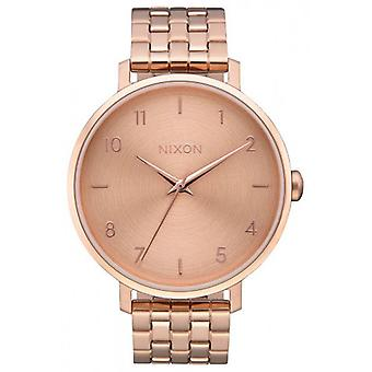 Nixon The Arrow Watch - Rose Gold