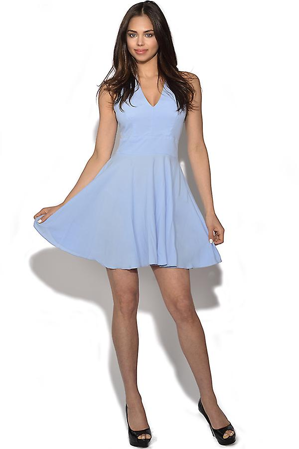 Steek Terug Skater Dress