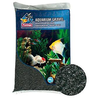 Flamingo Grava Black 2'5 Kg (Fish , Decoration , Gravel & sand)