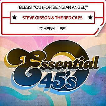 Steve Gibson & Red Caps - Bless You (for Being an Angel) / Cheryl Lee [CD] USA import