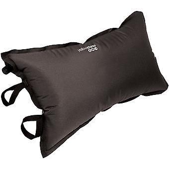 Self Inflating Pillow Black With Carry Bag 150D Polyester - Yellowstone