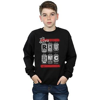 Run DMC Spraydosen jungen Sweatshirt