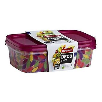Curver Deco September 2 x 1L rectangular Chef