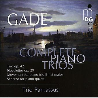 N.W. Gade - Gade: Complete Piano Trios [CD] USA import