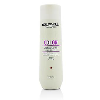 Zintuigen van Goldwell Dual Color Brilliance Shampoo (lichtsterkte voor fijn tot normaal haar) - 250ml/8.4 oz