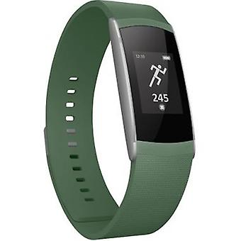 WIKO Wimate smart band activity tracker for fitness and sleep - khaki