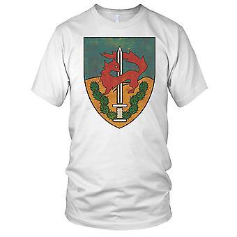 Israeli Military Sayeret Givaty Grunge Effect Mens T Shirt