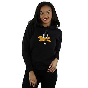 Looney Tunes Women's Daffy Duck Big Face Hoodie