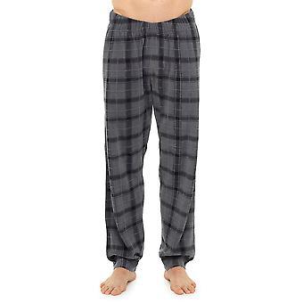 Tom Franks Mens Plaid Check Summer Pyjama Trouser Loungewear