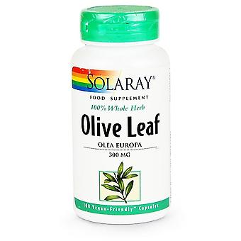 Solaray, Olive Leaf 300mg, 100 capsules