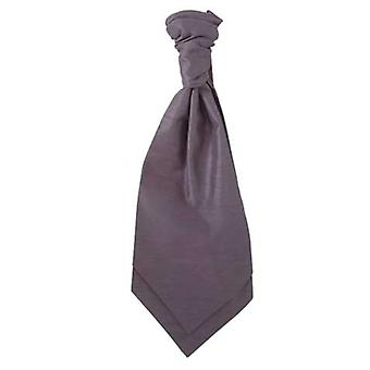Cravatta grigio carbone Ruche