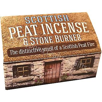 Scottish Peat Incense & Stone Burner