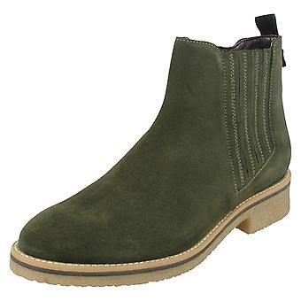 Ladies Van Dal Ankle Boots Mineral