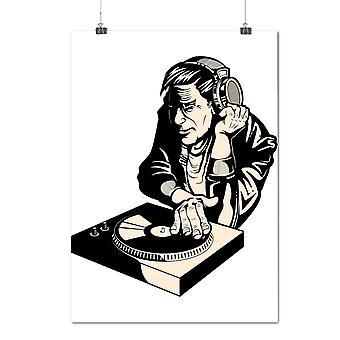 Matte or Glossy Poster with Dj Console Club Music | Wellcoda | *d2051