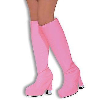 Go Go Boot Tops. Pink