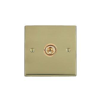 Hamilton Litestat Cheriton Victorian Polished Brass 1g 10AX PTM/PTB Ret Toggle PB