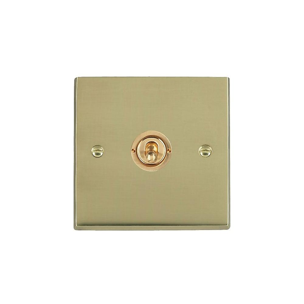 Hamilton Litestat Cheriton Victorian Polished Brass 1g 10AX PTM PTB Ret Toggle PB
