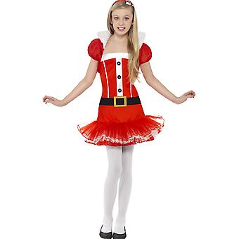 Children's costumes  Christmas dress for girls with bolero