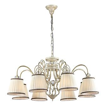 Maytoni Lighting Vintage Elegant Collection Chandelier, White Gold