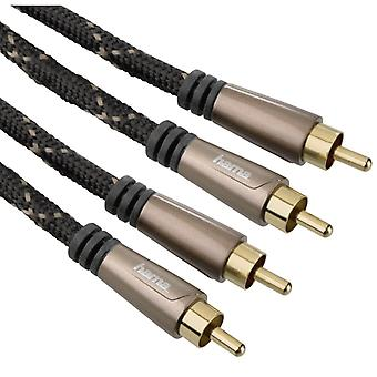 Hama Audio-Kabel 2 Cinch-2 Cinch 1,5 m 5ster