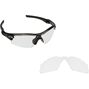 VENTILERADE RADAR PITCH ersättare linser Crystal Clear av SEEK passar OAKLEY