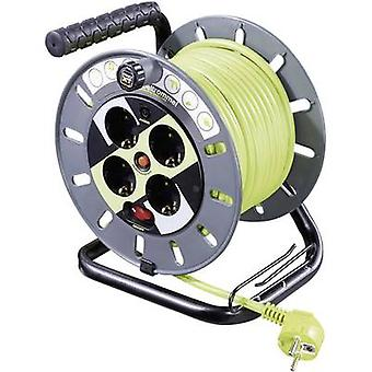 Cable reel 25 m Green PG plug Goobay 51268