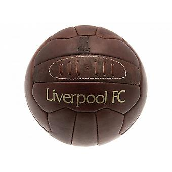 Liverpool FC officiel patrimoine rétro cuir Football