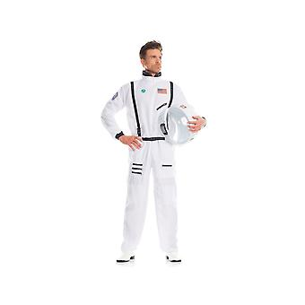 Be Wicked BW1663WT 1 Piece ADMIRABLE ASTRONAUT mens costume