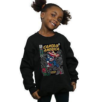 Marvel jenter Captain America Album problemet dekker Sweatshirt