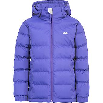 Trespass Girls Marey Polyester Waterproof Windproof Padded Jacket Coat
