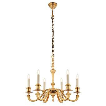 Lustre en laiton massif candélabres légers intérieurs 1900 Fenbridge 6