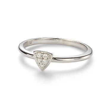 Forever Classic 1.4mm Moissanite Trillion Shaped Ring