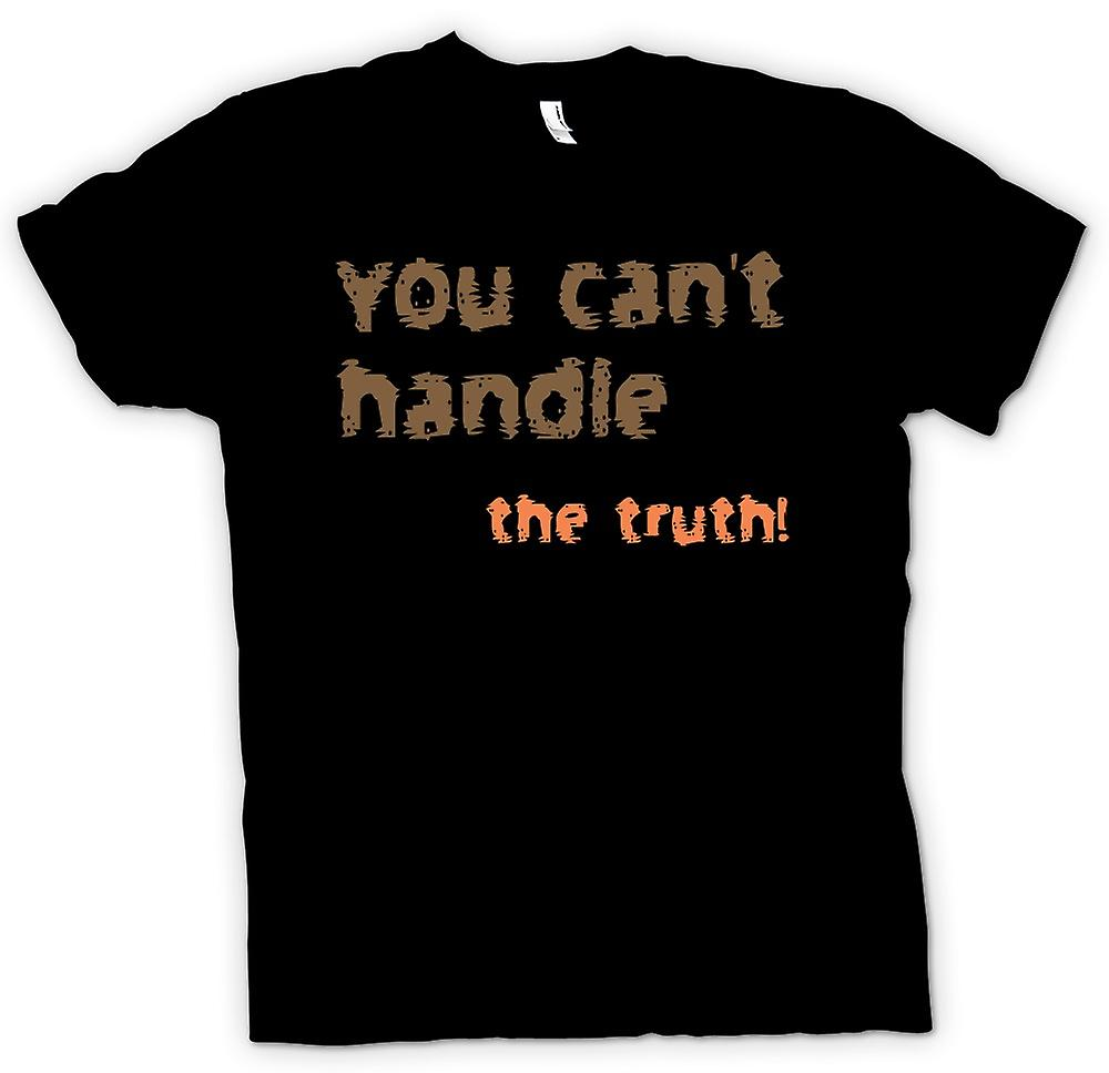 Mens T-shirt - I Want The Truth! - Funny Quote